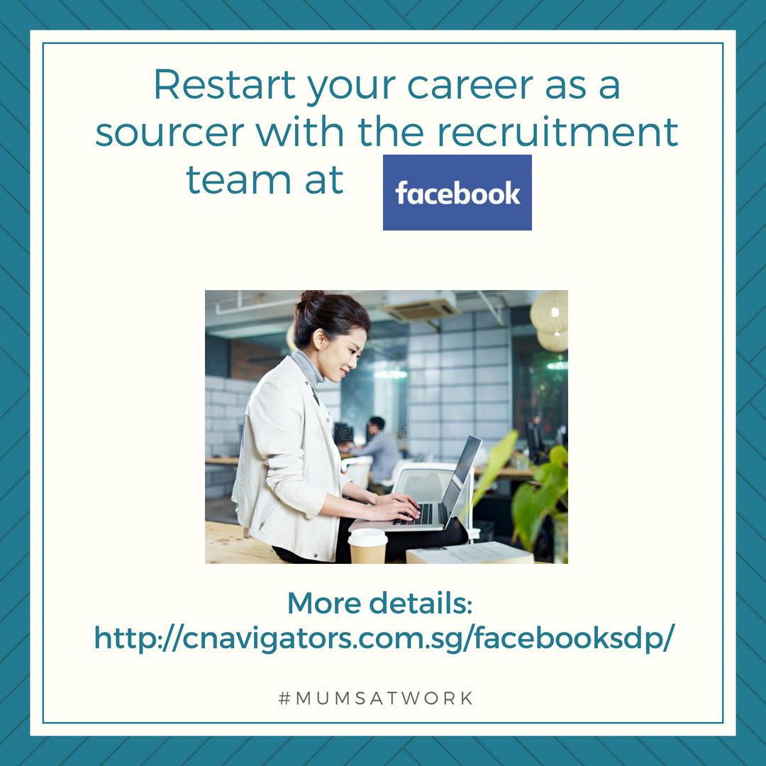 Restart your career as a sourcer with the recruitment team