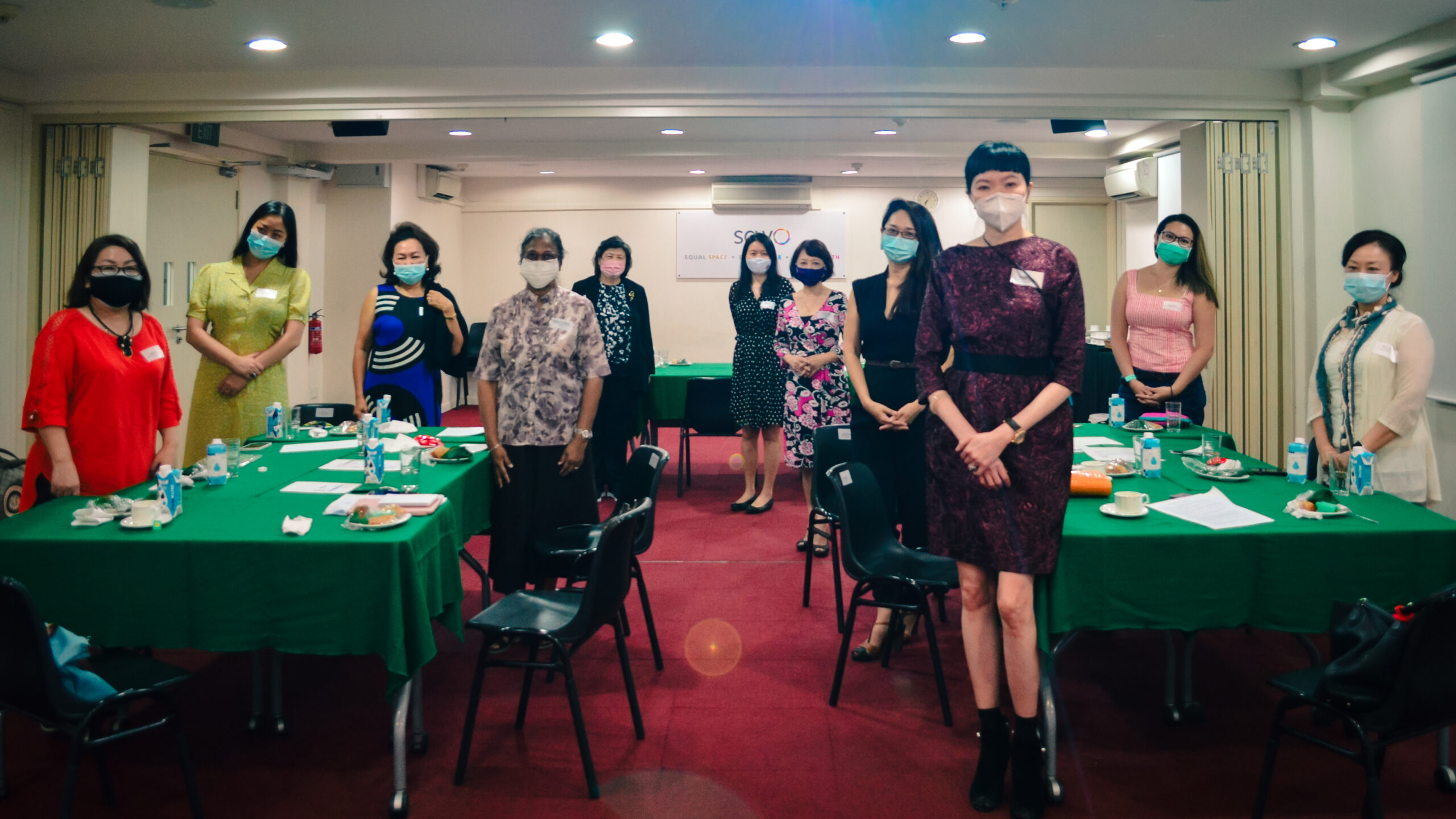 Members Tea Talk Group Photo